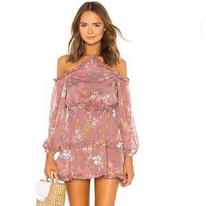 NEW Tularosa X REVOLVE Donna Cold Shoulder Dress